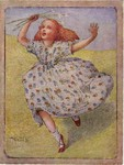 Ethel Everett - Edwardian Girl Running