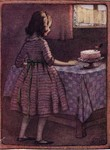Ethel Everett - Edwardian Girl with Cake