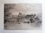 Windsor Castle Etching