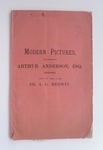 Catalogue Of Important Modern Pictures - May 1894