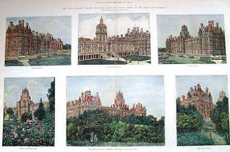 Royal Holloway College, Egham - Limited edition print